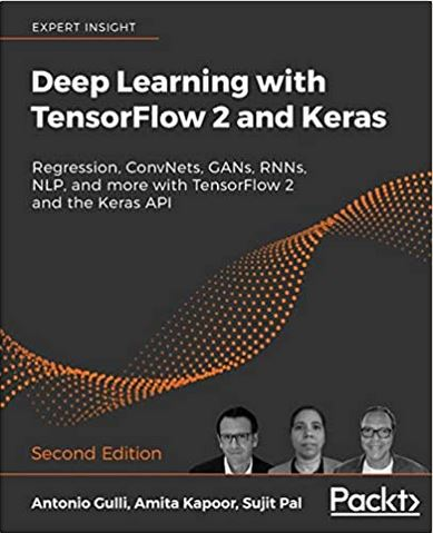 Deep-learning with Tensorflow 2 and Keras, A.Gulli et al