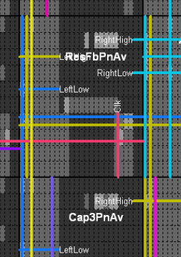 ReNaChip field-programmable mixed-signal array - routing software